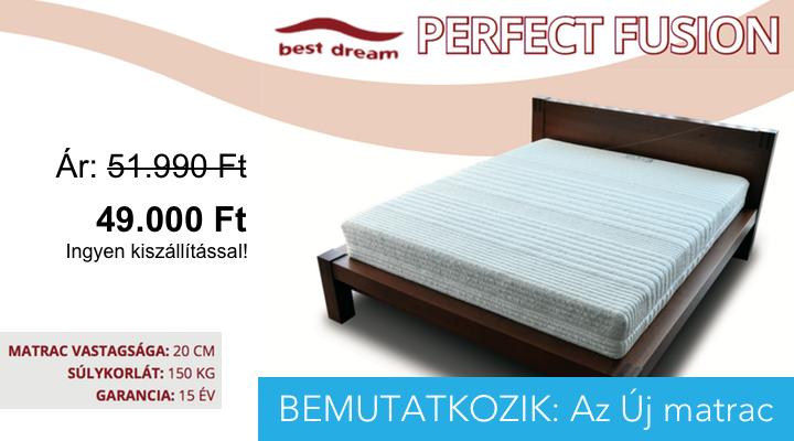 Új matrac Perfect Fusion